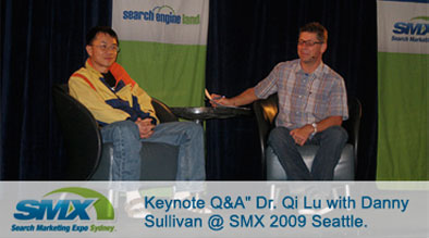 Keynote Q&A with Danny and DR. Qi Lu