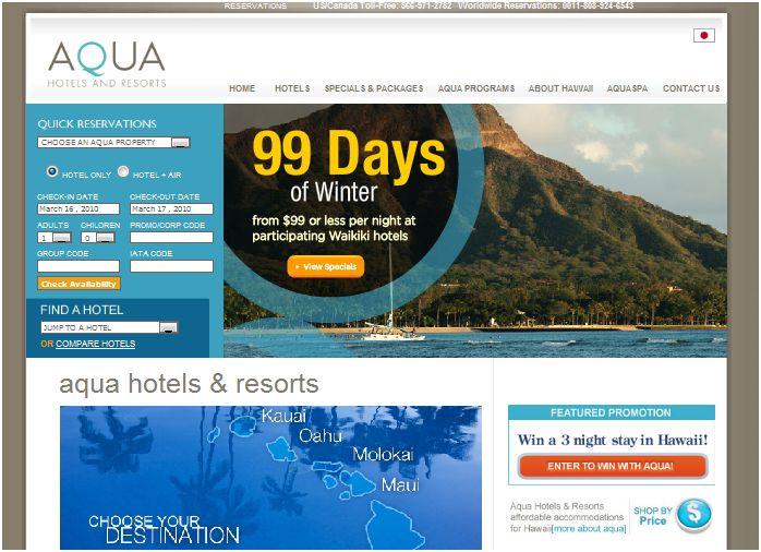 Hawaii Hotels and Resorts