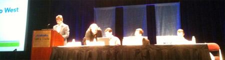 SMX West 2010, Danny Sullivan, Ivan Davtchev Sean Suchter, and Dylan Casey