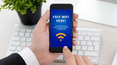 Custom Wi-Fi Landing Page