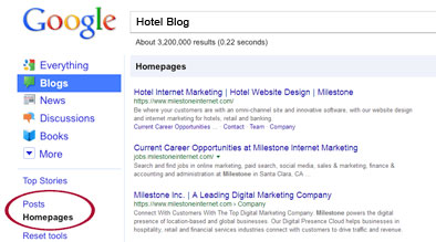 Google Focuses on Blogs