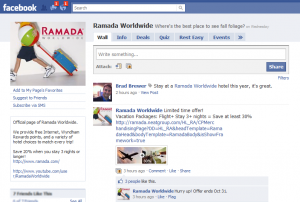 Ramada Worldwide Facebook Page
