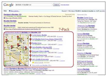 Old Search Engine Results Page