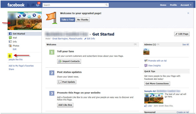 Facebook Profile to Page