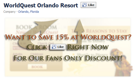 Facebook Fan Gate and Hotel Booking Engine