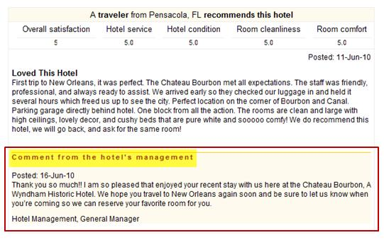 Traveler from Pensacola recommends this hotel