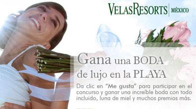 Velas wedding contest
