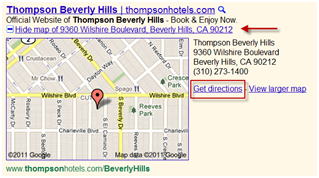 PPC Location Extension Example