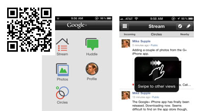 Google+ iPhone App is Here