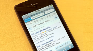 iPhone Mobile Browsing