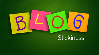 Increasing Blog Stickiness