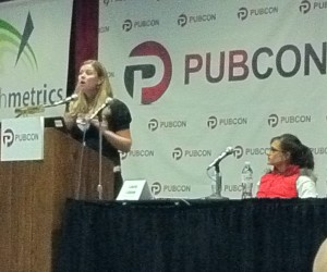 Cross Over Between Social Media and Search - PubCon Las Vegas 2011