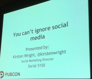 Integrating Social Media Into Overall Marketing Plan - PubCon 2011