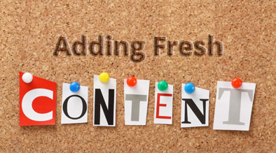 Tips For Adding Fresh Website Content