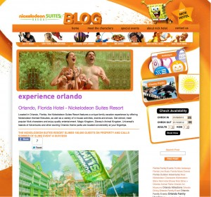 Nickelodeon Suites Blog