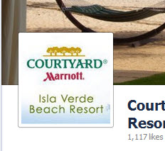 Courtyard by Marriott Isla Verde Beach Resort Facebok Profile Image