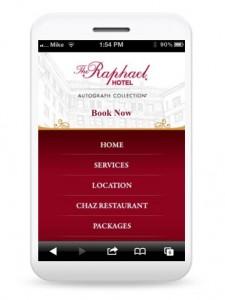 Raphael KC mobile site