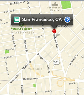 Apple iOS6 Local Strategy