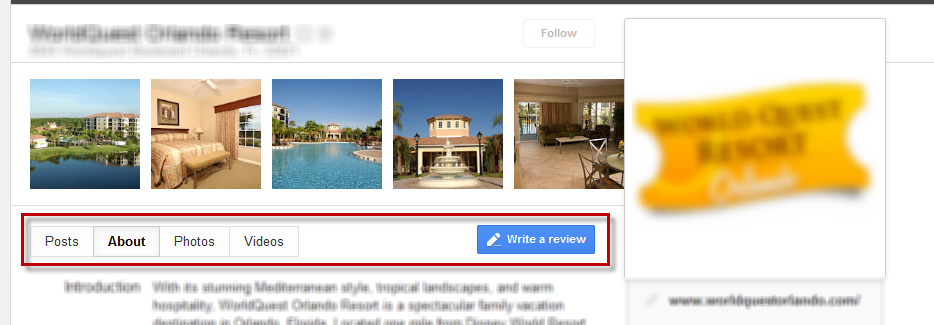 Google+Local - who what and how