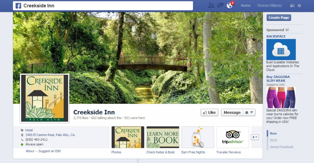 Creekside Inn Facebook Page