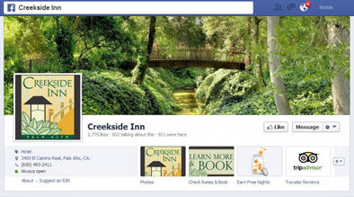 Creekside Inn Social Media Sweepstakes