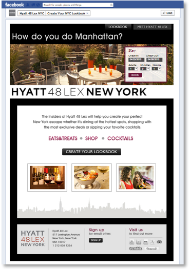IAC Best Social Media Campaign - Hyatt 48 Lex