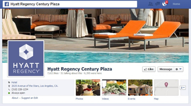 Hyatt Regency Century Plaza Facebook Sweepstakes