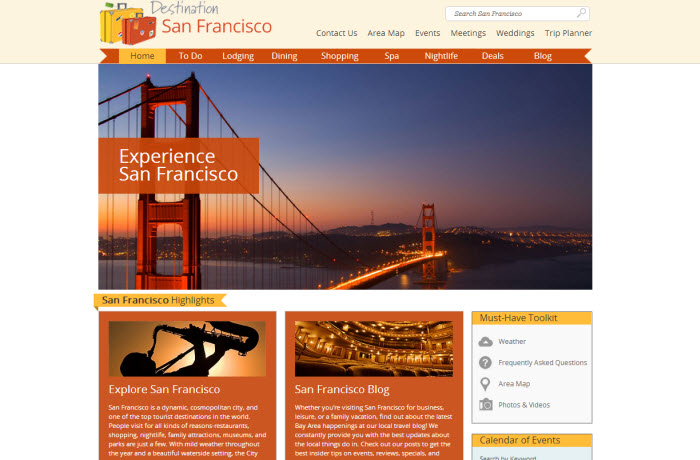 Destination Visit - Things to do in San Francisco