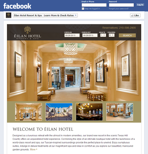 Facebook Apps - Hotel Information