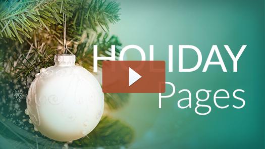 Holiday page thumbnail