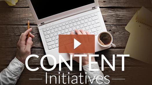 Content Initiatives