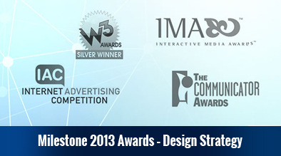 Milestone Wins Prestigious Awards for Hotel Website Design and Search Engine Optimization in 2013