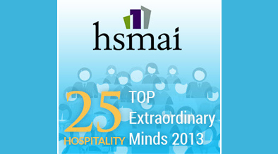 Milestone Internet Marketing Founder Named One of HSMAI's Top 25 Extraordinary Minds in Hospitality for 2013