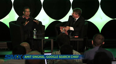 SMX West 2014 Keynote: Conversation with Google Search Chief Amit Singhal