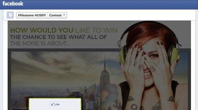 Milestone Facebook Contest