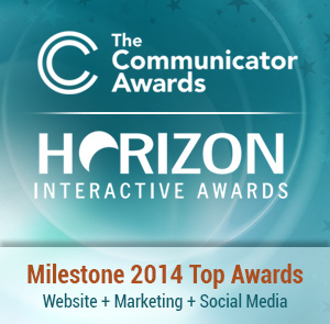 Milestone Award Winning Website Design