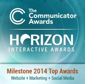 Milestone Award Winning Website Design