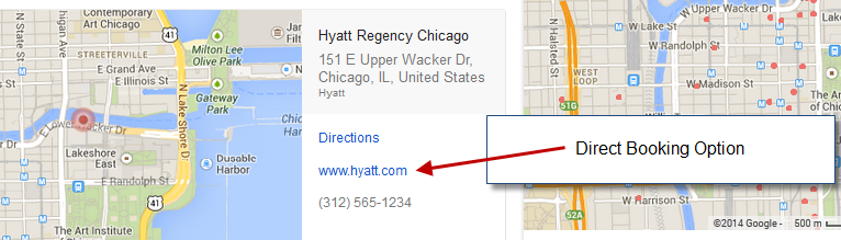 Google Hotel Finder Profile