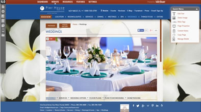 Hotel Website Content Management System