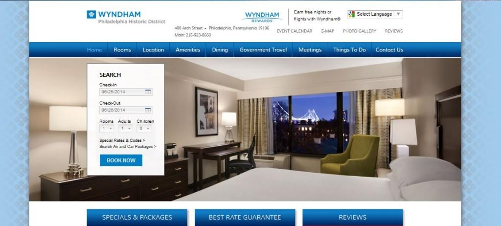Philadelphia hotel case study