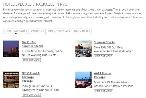 hotel website CMS