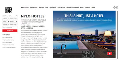 NYLO hotels - milestoneinternet.com, Milestone Inc.