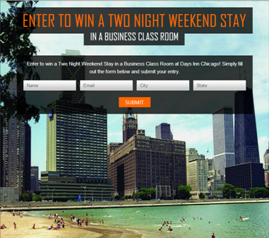 Days Inn Social Sweepstakes