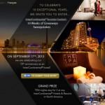hotel social media contest idea