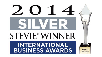 Stevie Award - Best Hotel CMS 2014 - square