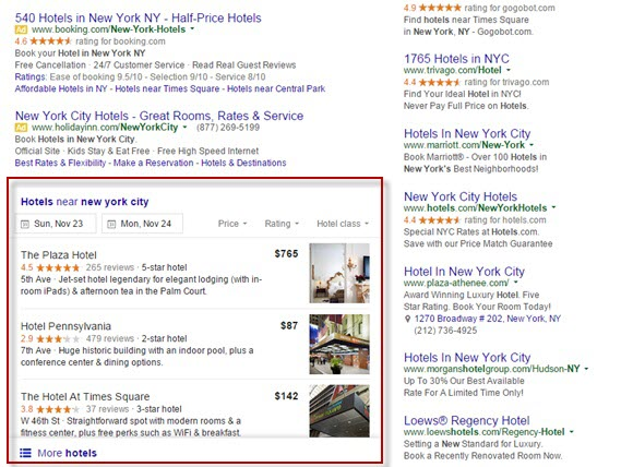 Hotel Marketing Strategy - Google Local 3-Pack