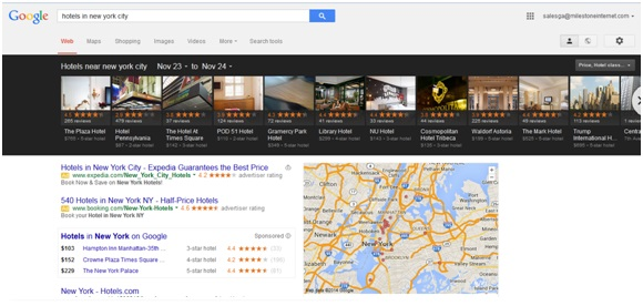 Google Carousel - Hotel Marketing Strategy