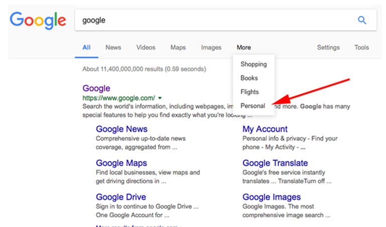 Latest on Google's Personalized Search www.milestoneinternet.com Milestone Inc