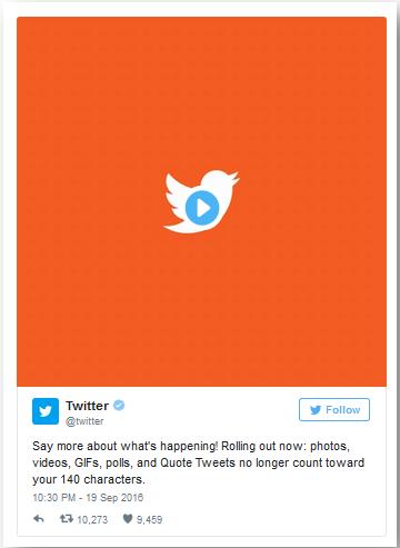 Twitter Social Anouncement