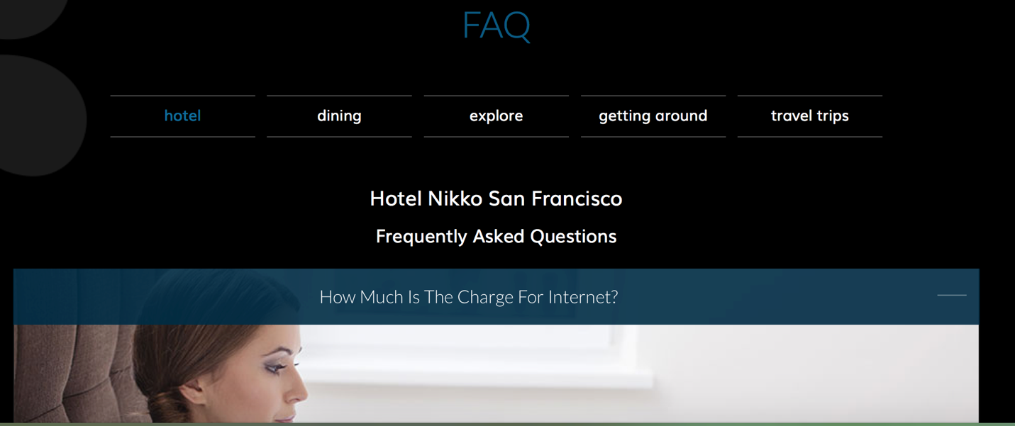 Hotel Nikko FAQ